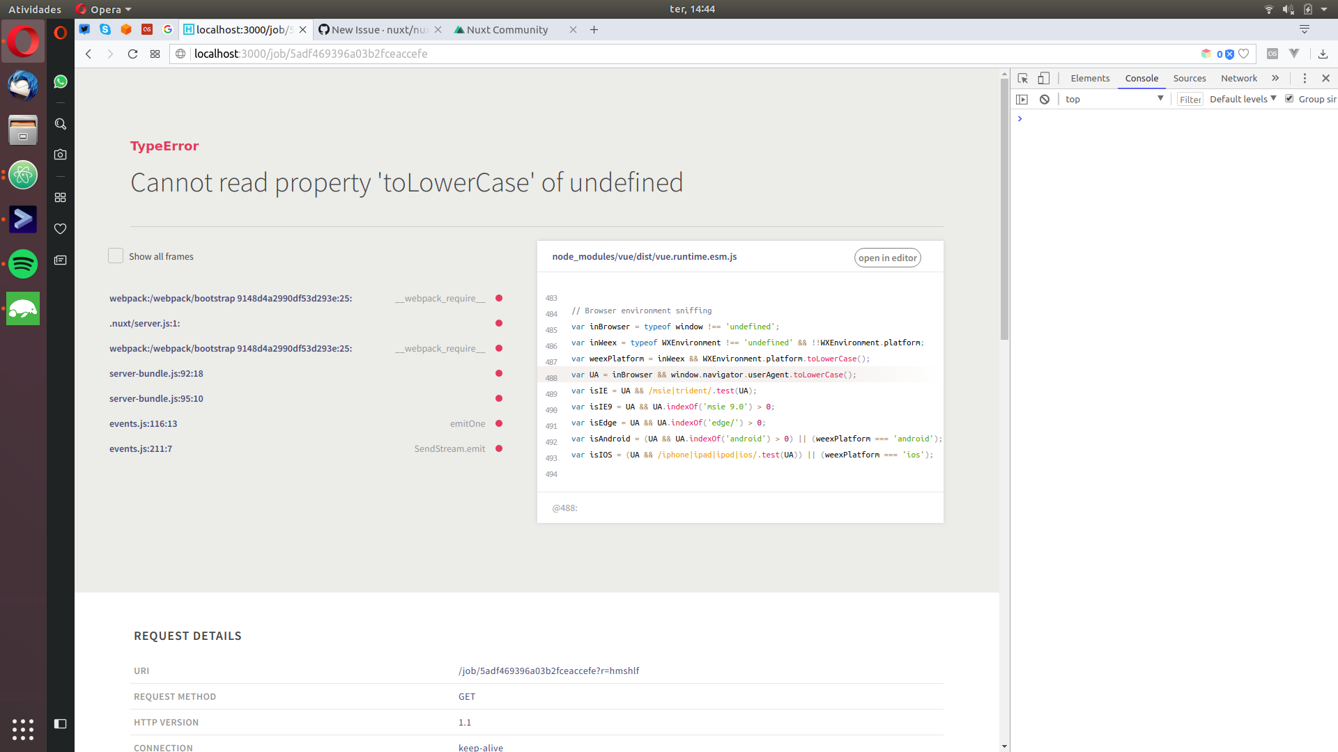 TypeError: Cannot read property 'toLowerCase' of undefined