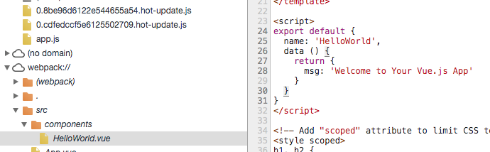 The debug code in chrome console can not get updated after code