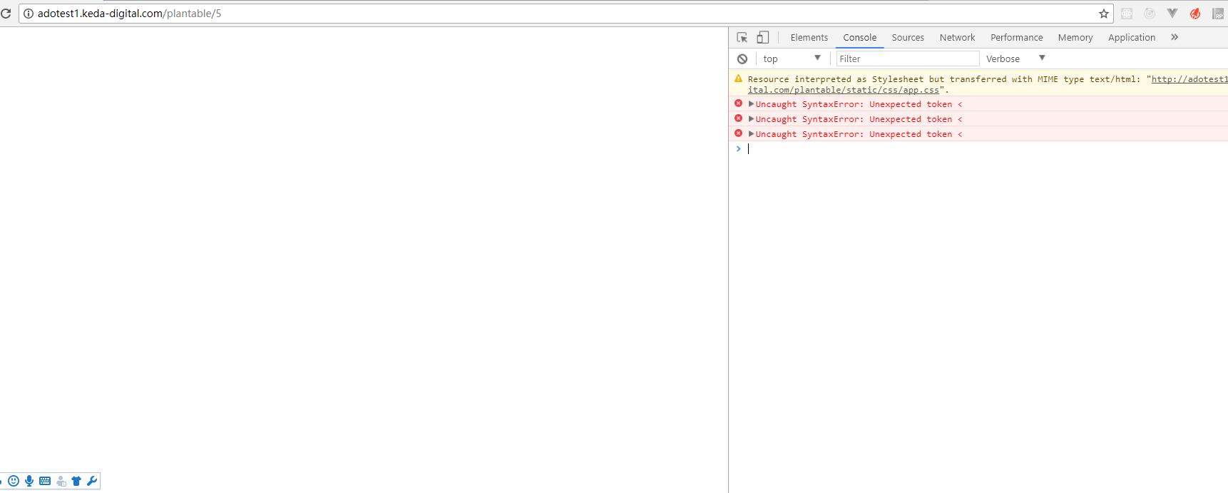 Vue 在nginx部署运行后报错Uncaught SyntaxError: Unexpected