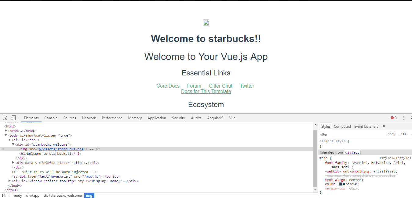 vue cli webpack template module dependencies images not found when