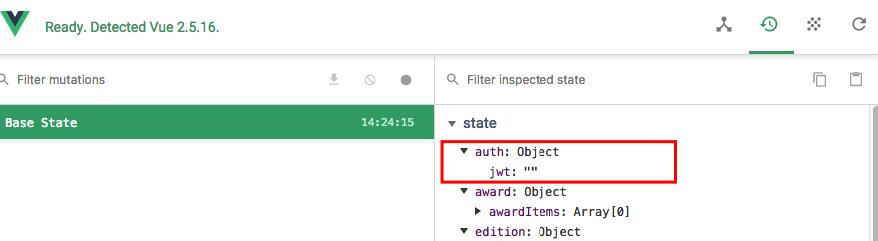 Vuex bindings work even when vuex state is empty! - Get Help - Vue Forum