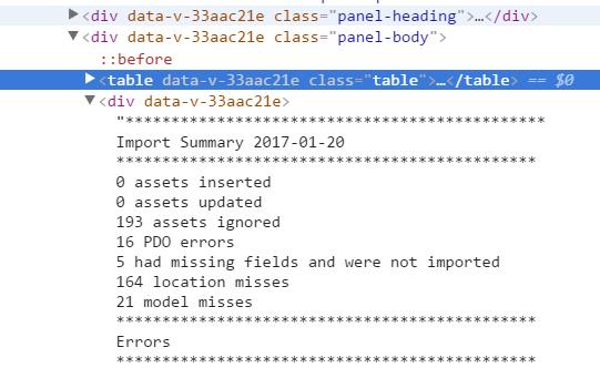 Getting Vue to render HTML line breaks - Get Help - Vue Forum