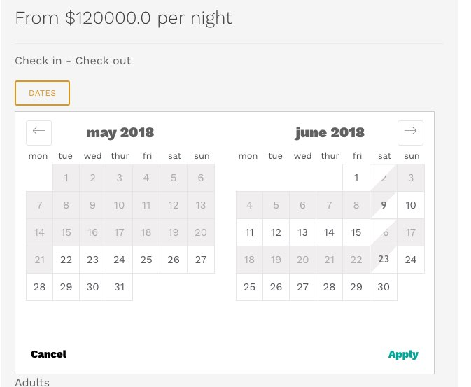 AirBnb Style Datepicker - Show & Tell - Vue Forum