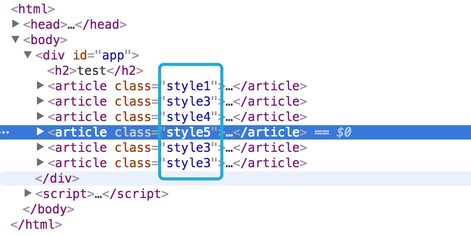 How to bind dynamic css class on a v-for elemnt - Get Help