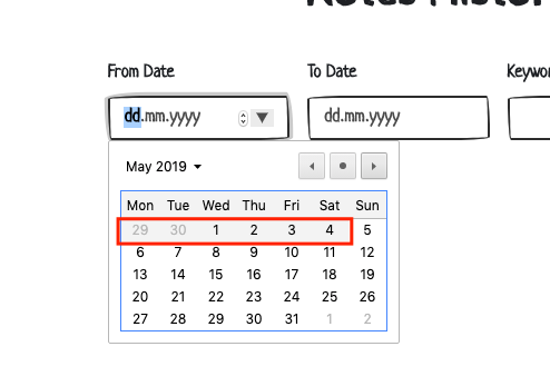 How to update end date choice - Get Help - Vue Forum
