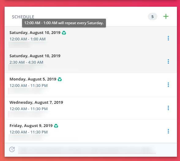 Vuejs scheduler - Vue Forum