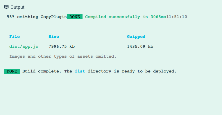 Vue Cli 3 Bundle Size is too large ! ( app js is now 8 MB